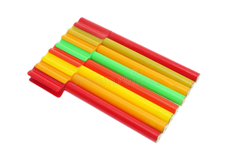 Download Penas de Colouringt imagem de stock. Imagem de lado, tiro - 10054705