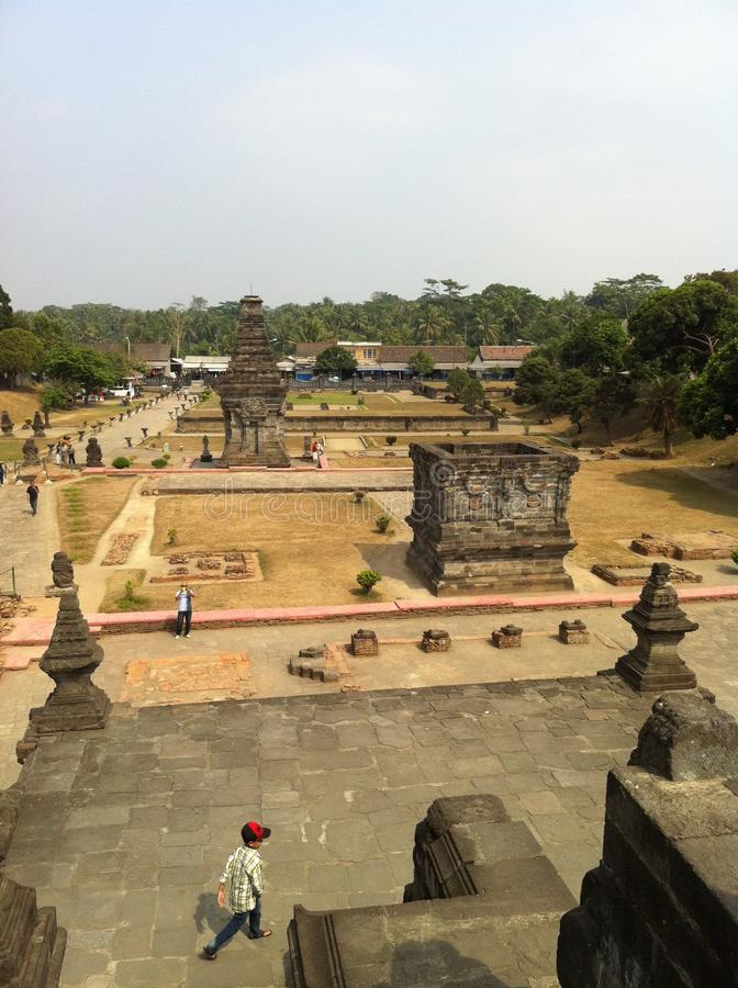 Penataran-Tempel stockbilder