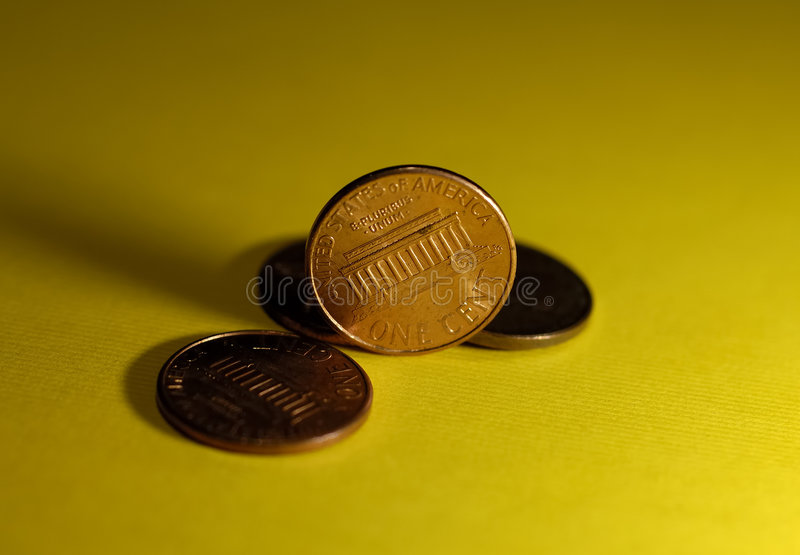 Pence royalty-vrije stock afbeelding