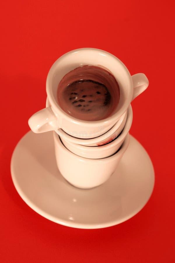 Penchant de café photographie stock