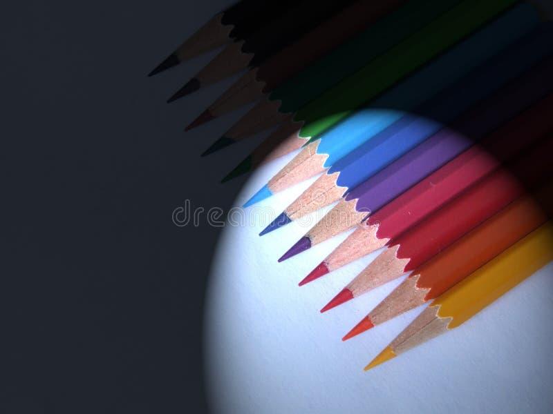Pencil. Color pencil stock photo