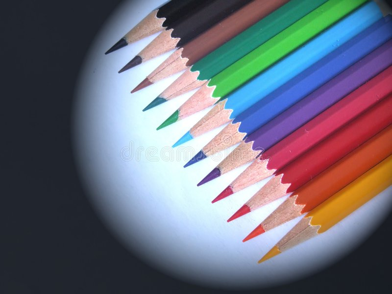 Pencil. Color pencil stock photography