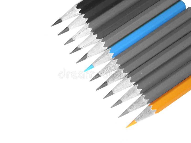 Pencil. Color pencil royalty free stock image