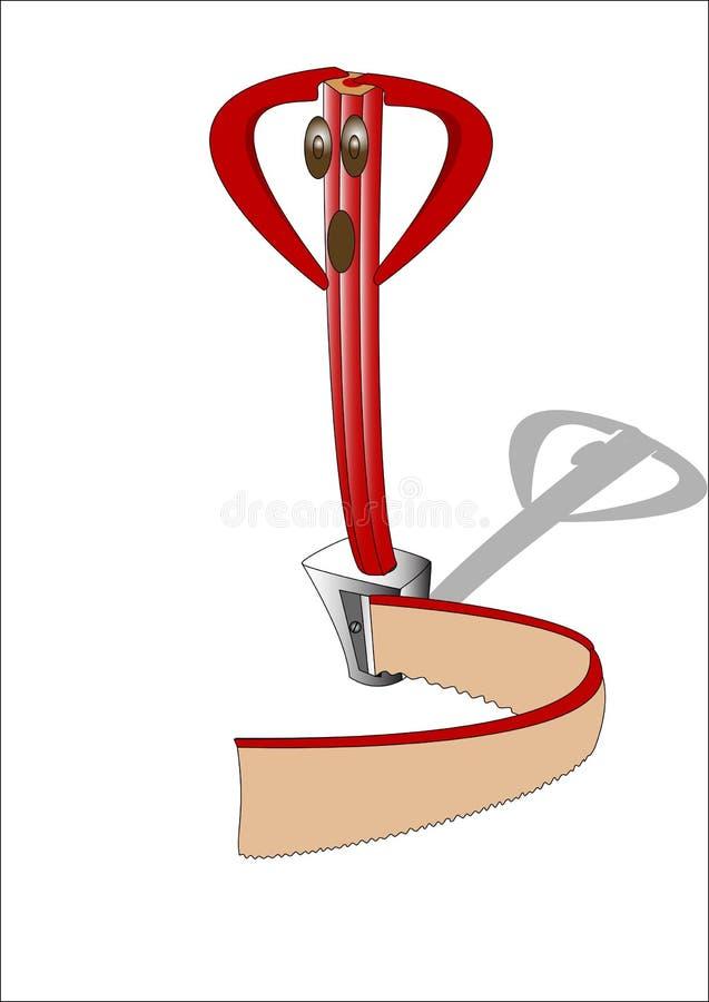Download Pencil stock vector. Illustration of tree, sharpener - 11849466