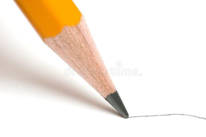 Pencil stock image