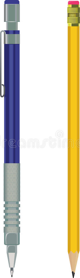 Download Pencil And Automatic Pencil Stock Image - Image: 28547059