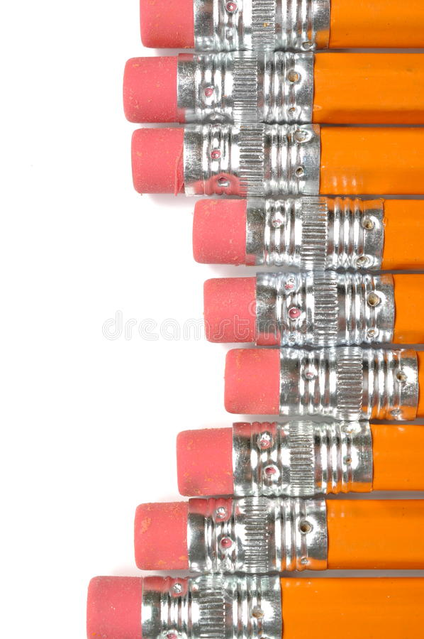 Download Pencil background stock image. Image of erasers, pencil - 26056779