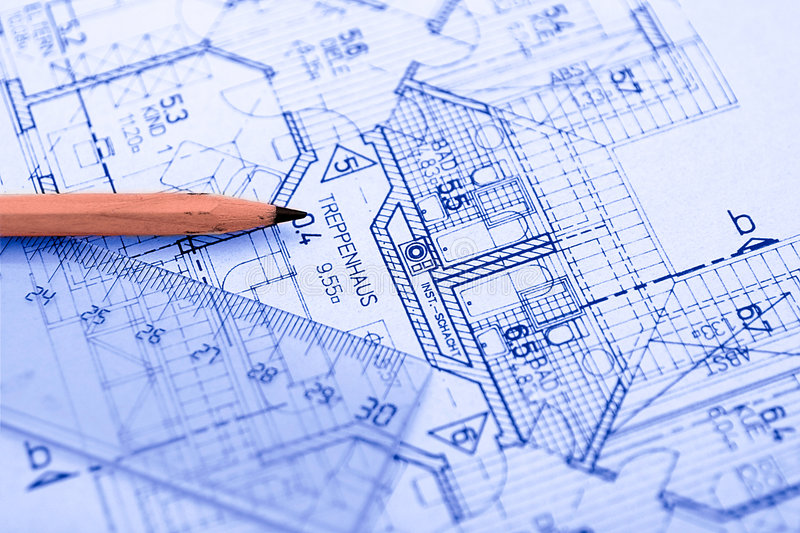 Pencil on blueprint stock photo image of sketch development 595986 download pencil on blueprint stock photo image of sketch development 595986 malvernweather Gallery