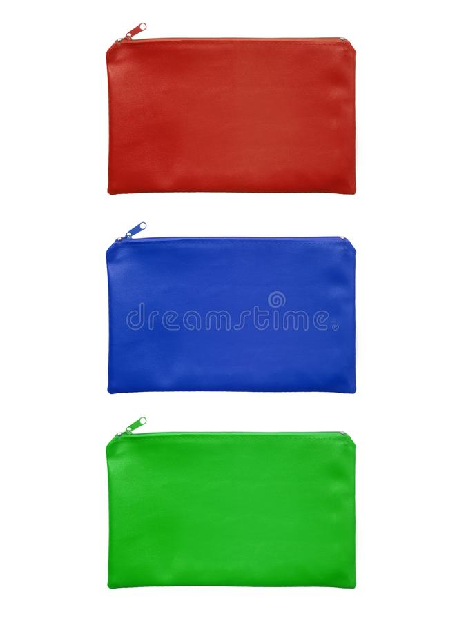 Download Pencil Case stock photo. Image of assortment, isolated - 26441852