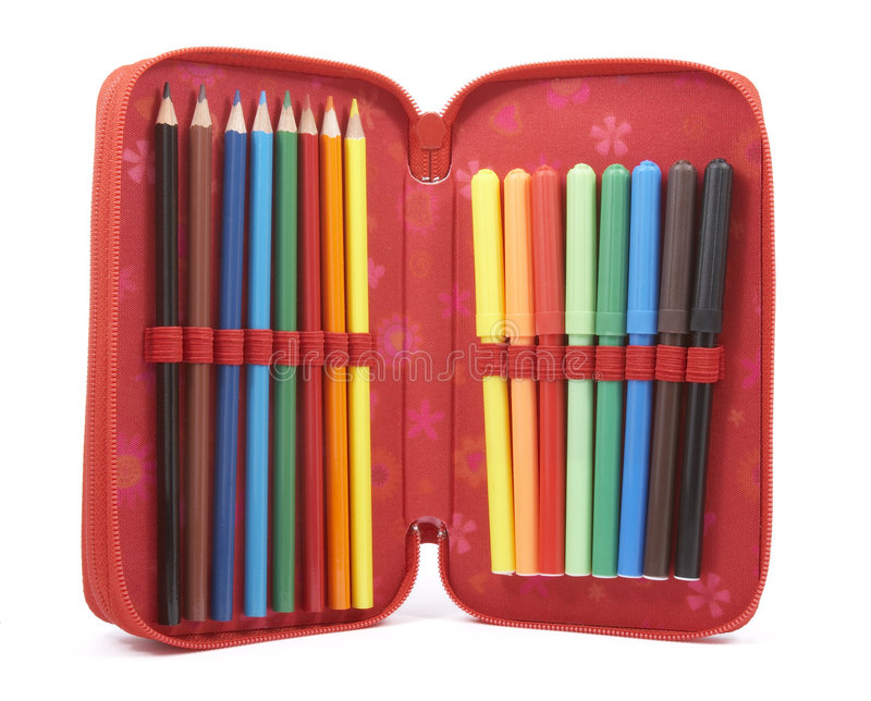 Download Pencil Case 3 Royalty Free Stock Images - Image: 7546369
