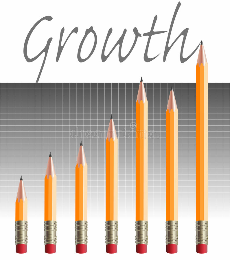 Download Pencil Chart Stock Image - Image: 7315271