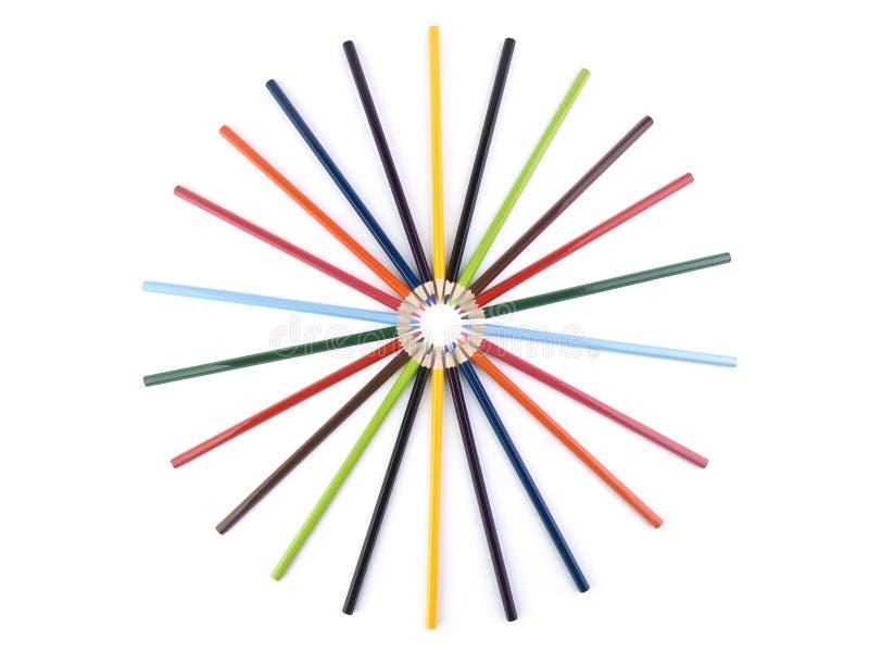Download Pencil circle stock photo. Image of multicolored, closeup - 13443574