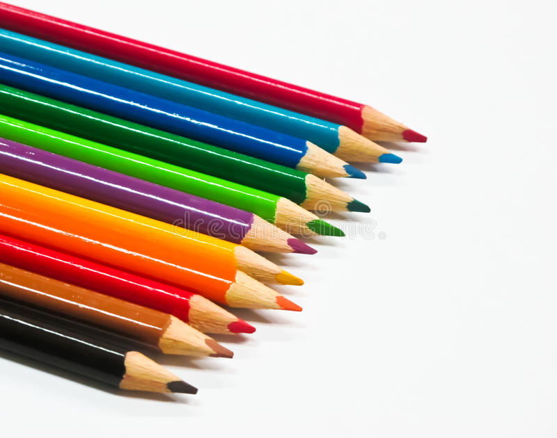 Pencil color royalty free stock images