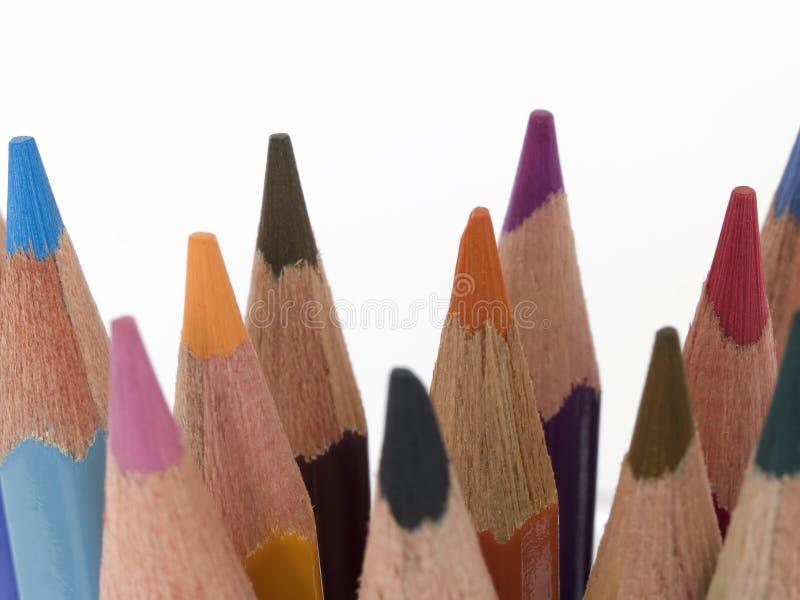 Pencil Crayons 1 Free Stock Photo