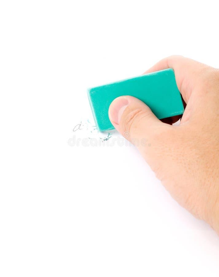 Pencil eraser stock photography