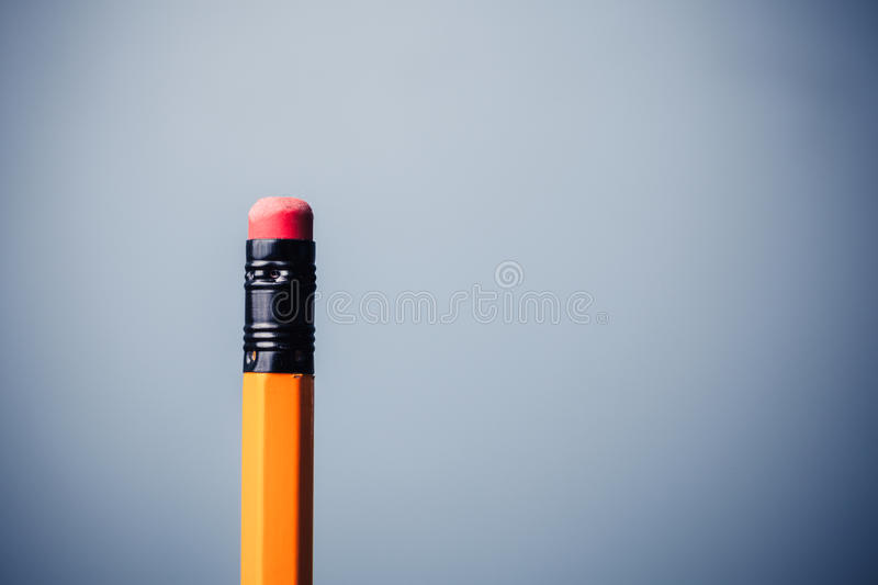 Pencil And Eraser Stock Photography
