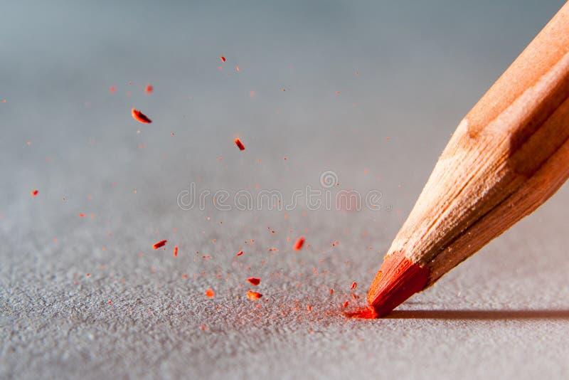 Pencil head royalty free stock photo