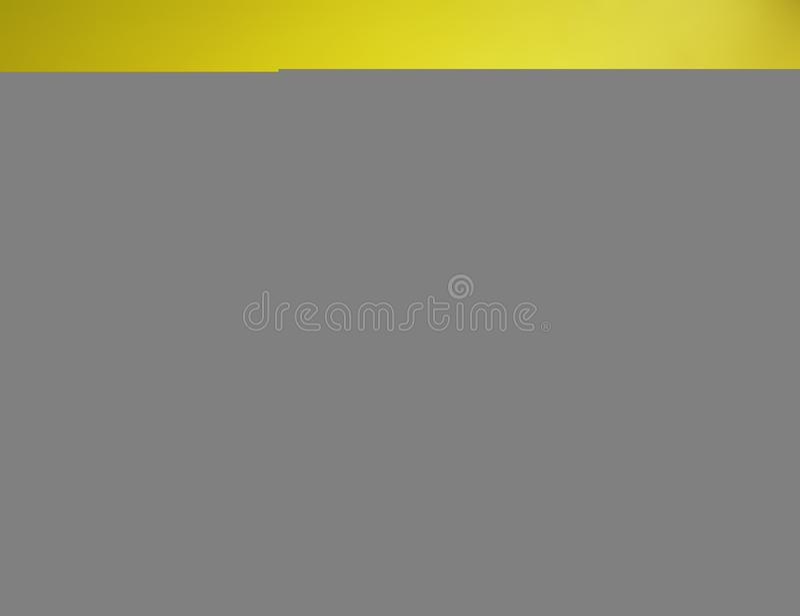Pencil Holder on Yellow