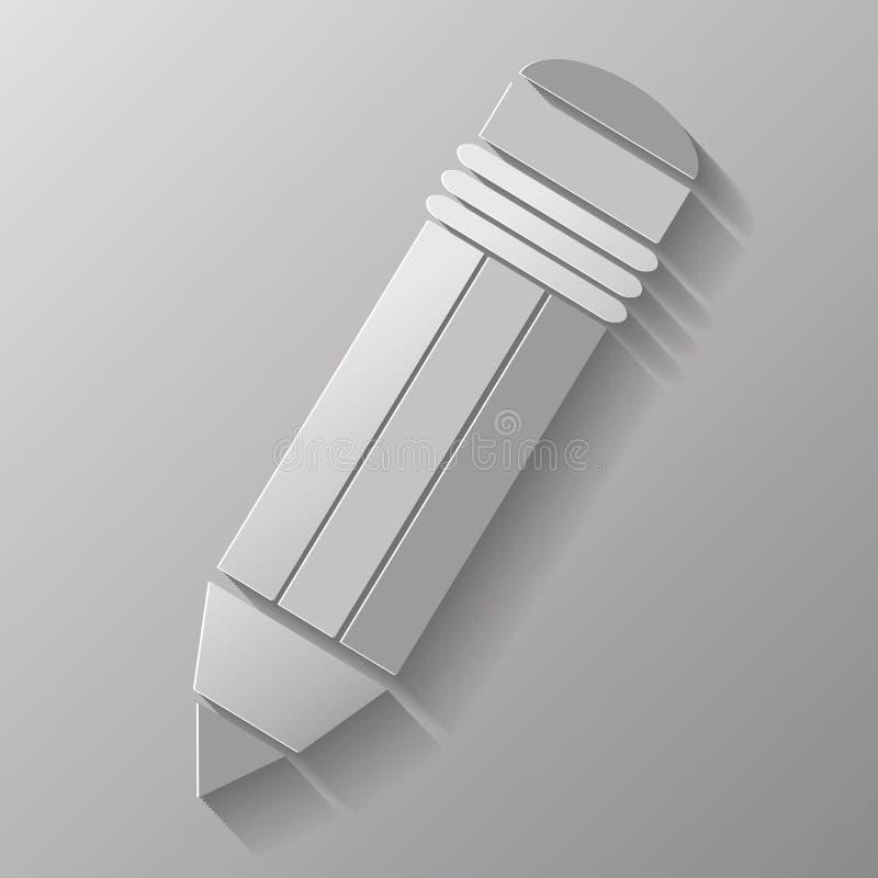 Download Pencil stock vector. Illustration of sharp, lead, erase - 36419399