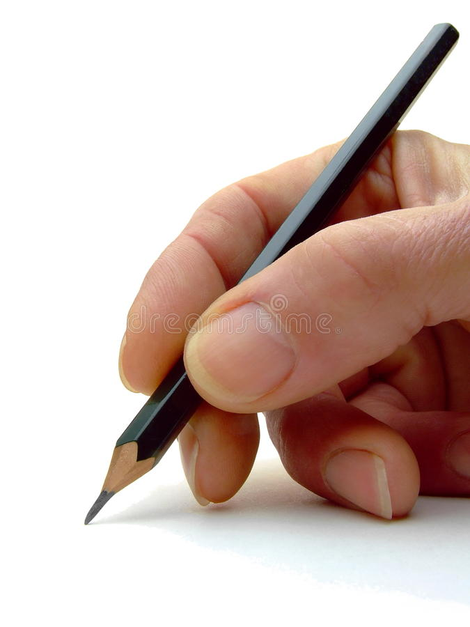Free Pencil In Hand Stock Photos - 10272393