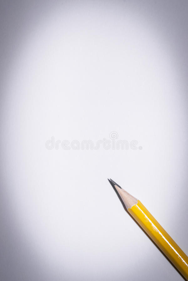 Download Pencil Isolated On Pure White Background Stock Image - Image: 83705027
