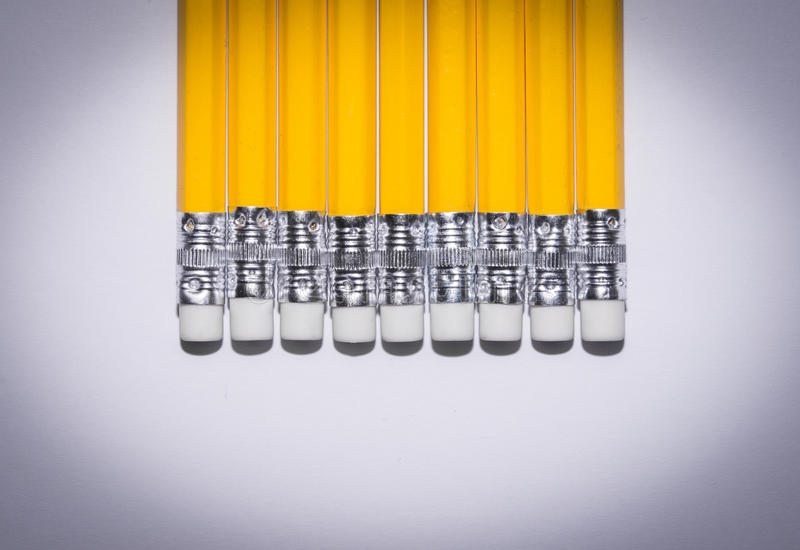 Download Pencil Isolated On Pure White Background Stock Photo - Image: 83705236