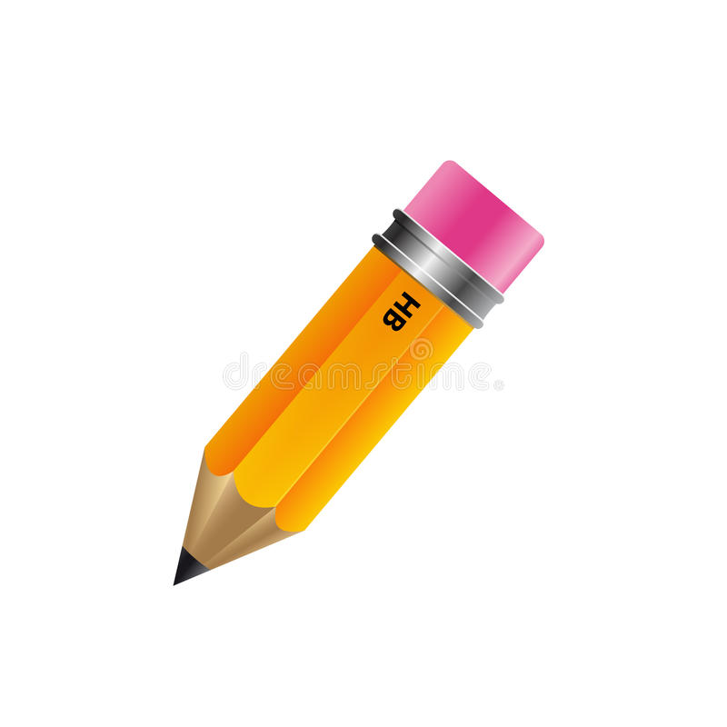 Download Pencil Isolated On White Background Stock Photos - Image: 27324613