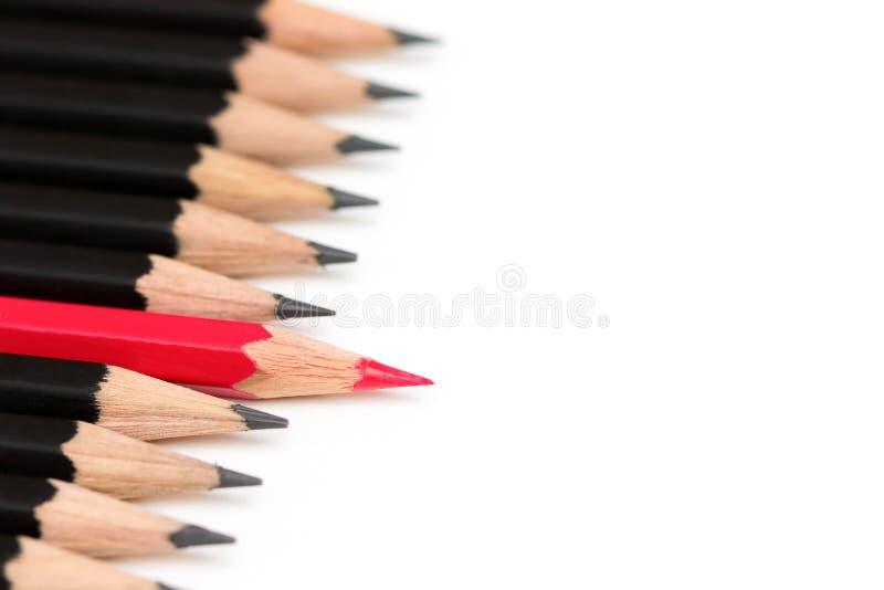 Pencil Leadership royalty free stock image