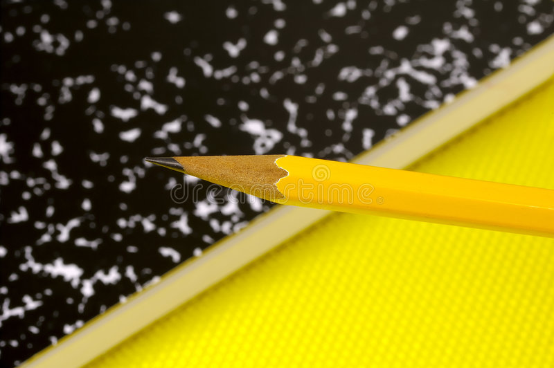 Download Pencil And Notebook Stock Photo - Image: 182340