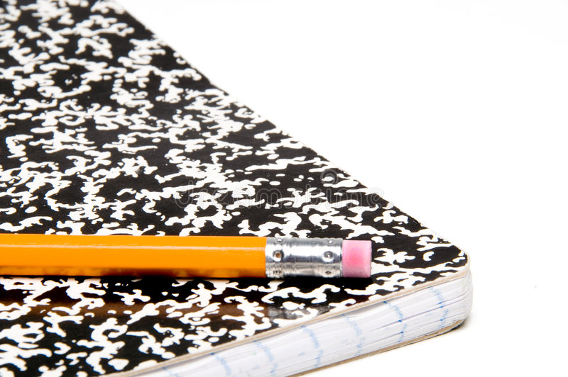Download Pencil And Notebook Royalty Free Stock Image - Image: 5690706