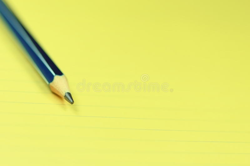 Download Pencil and Paper stock photo. Image of work, background - 36806648