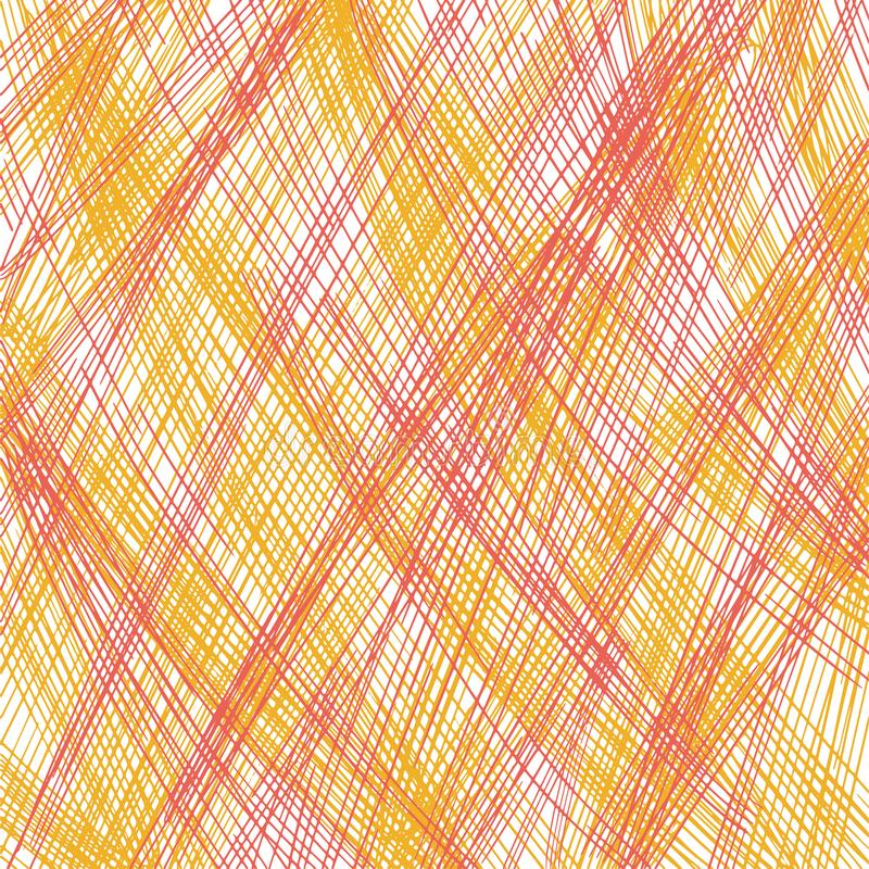 Pencil scribble texture. Geometric simple fashion fabric print. Abstract background concept. Vector illustration. Paper art. Pencil scribble texture. Geometric stock images