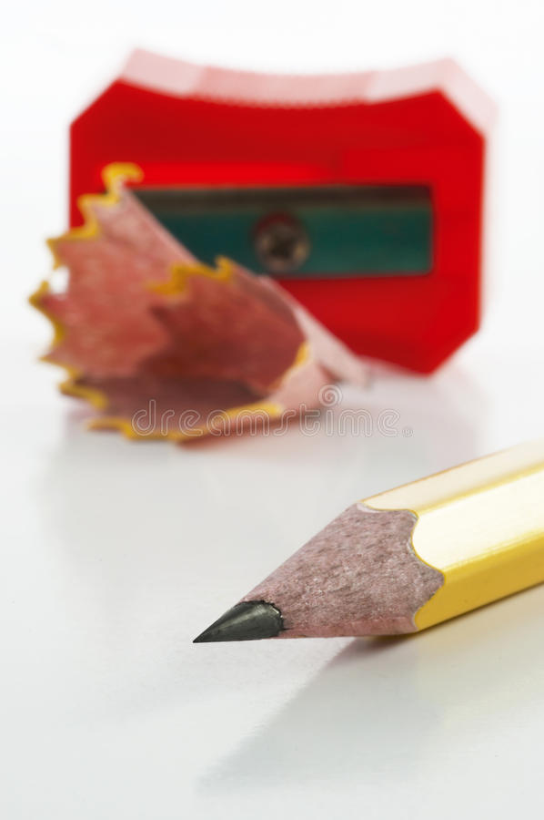 Download Pencil And Sharpener Royalty Free Stock Photo - Image: 23024295