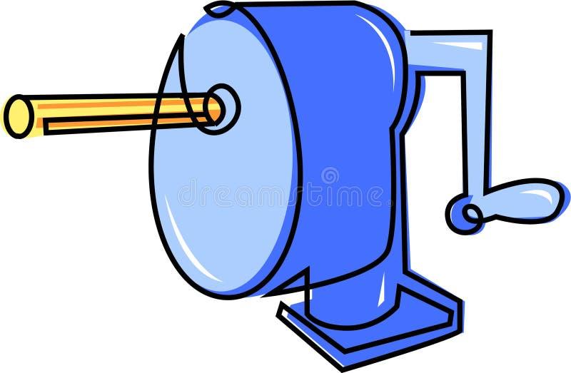 Download A Pencil sharpener stock illustration. Illustration of sharpen - 27463350