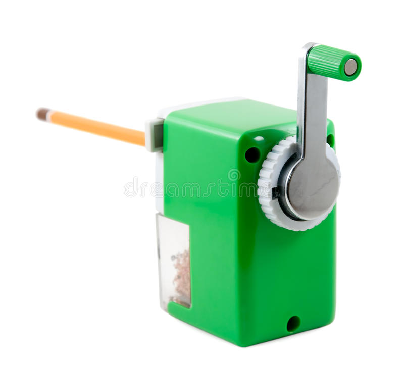 Download Pencil-sharpener stock image. Image of isolated, sharpener - 27950241