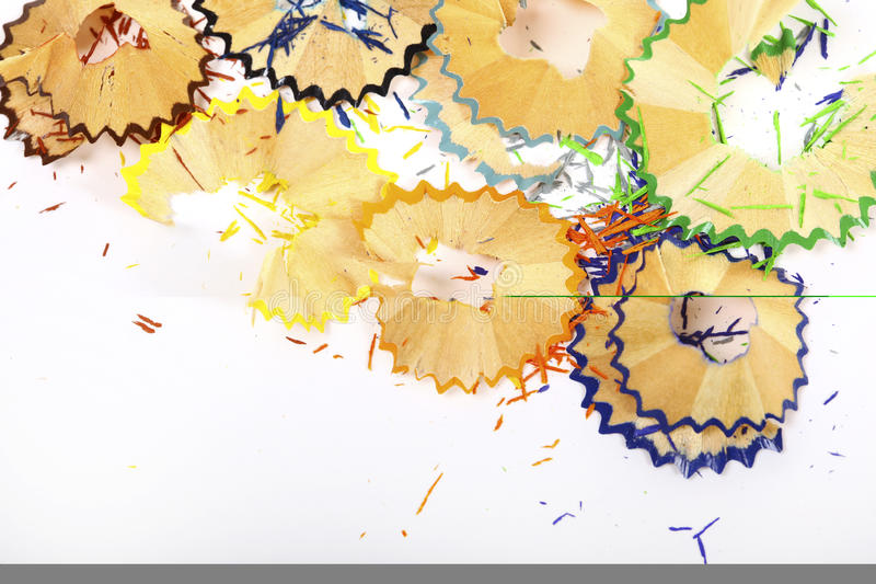 Download Pencil shavings stock image. Image of background, macro - 18156985