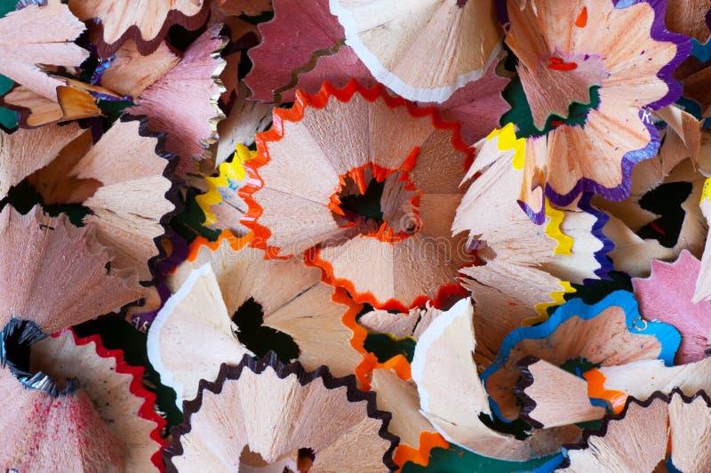 Download Pencil shavings stock photo. Image of color, pencil, education - 19055508