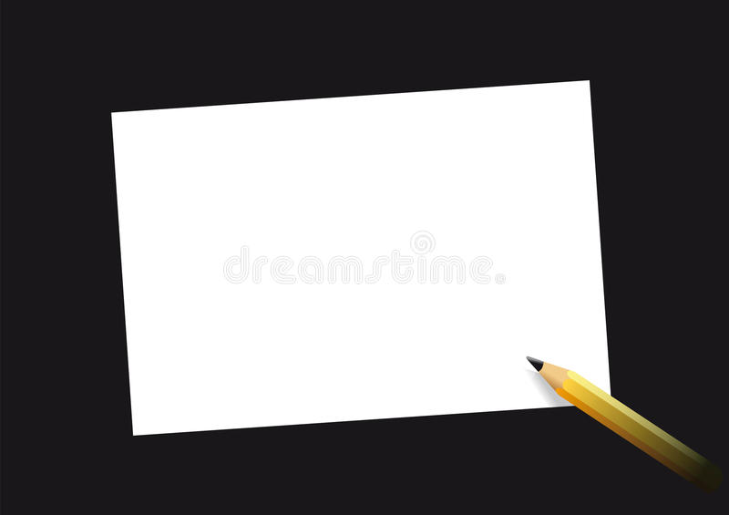 Download Pencil And Sheet Stock Photo - Image: 12655160