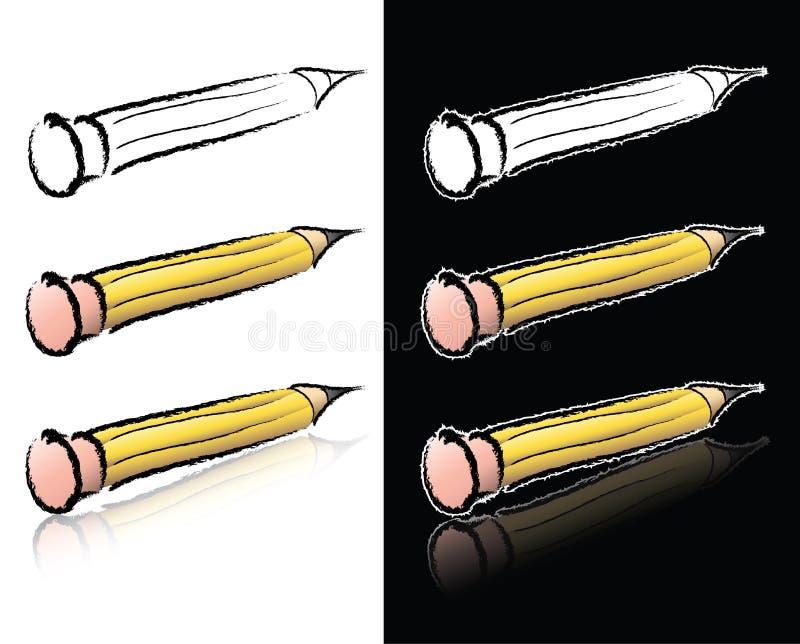 Pencil Sketch stock photo