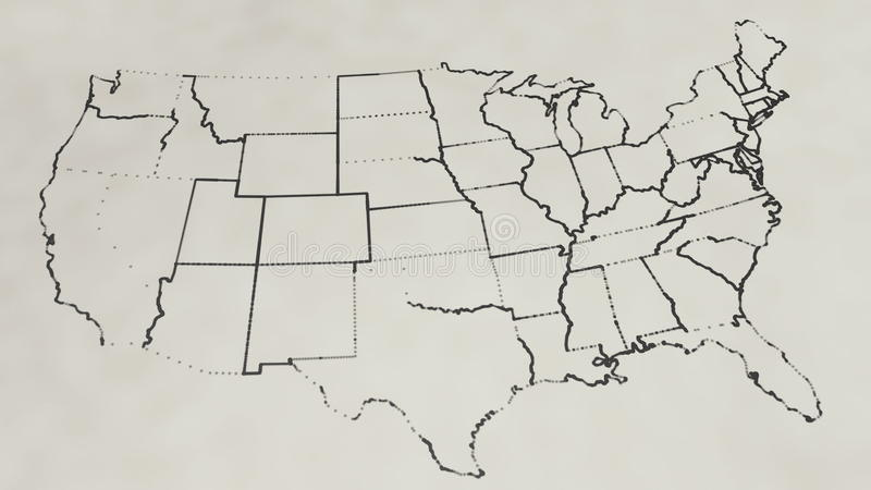 pencil sketch of the united states map animation stock footage video of info continent 65223534