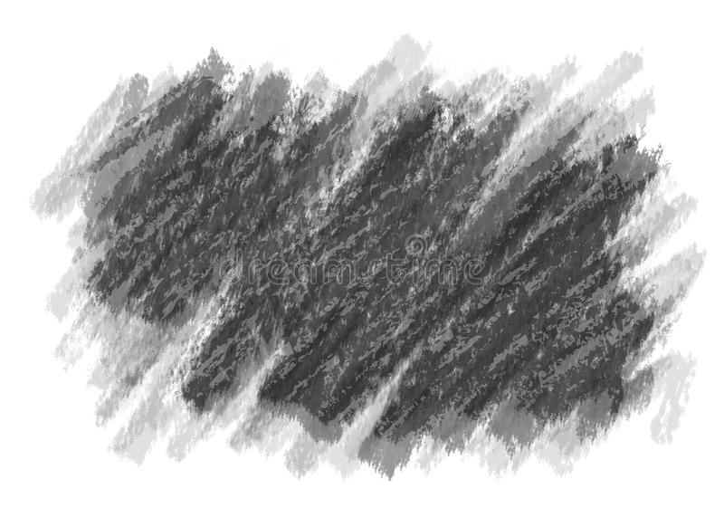 Pencil sketching, digitally reproduced drawing. Pencil sketch, digitally reproduced drawing. Charcoal and pencil drawn base background on a rough white surface vector illustration