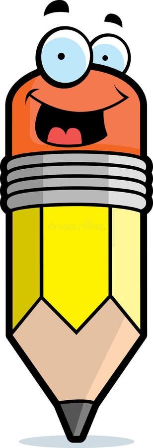 Download Pencil Smiling stock vector. Illustration of illustration - 10270001