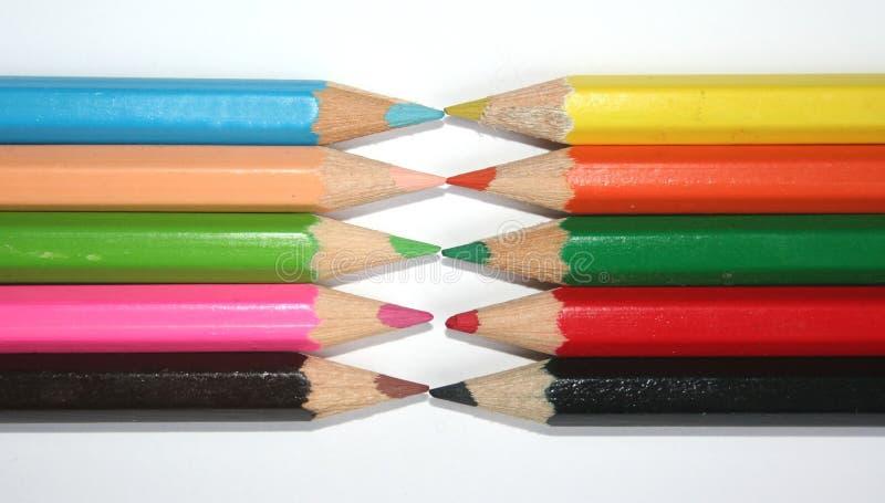 Pencils royalty free stock photos