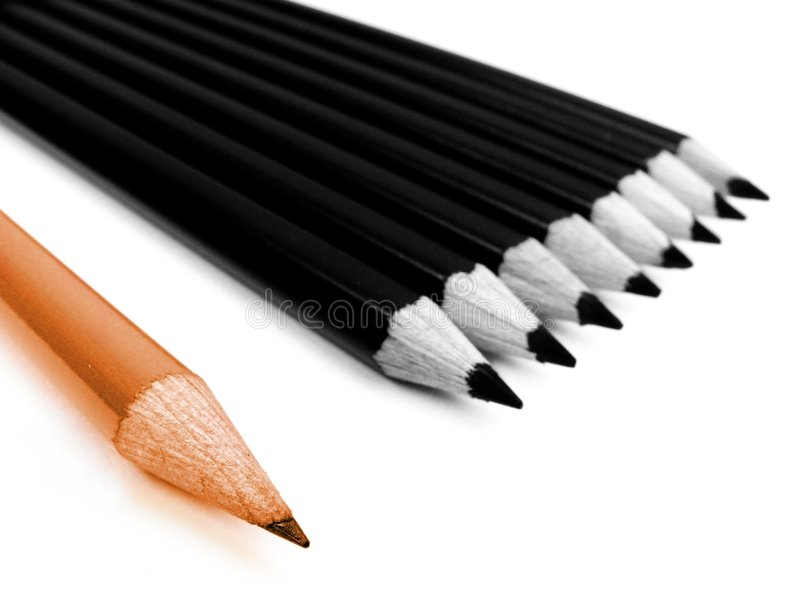 Download Pencils stock photo. Image of design, office, wooden, eight - 1712970
