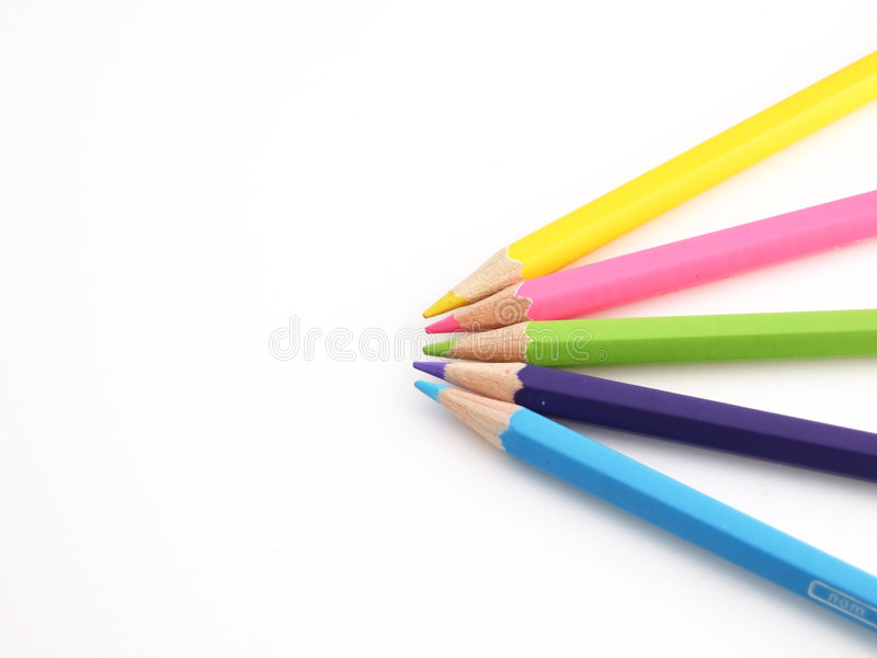 Download Pencils stock image. Image of blue, colorful, crayon, artist - 1724115