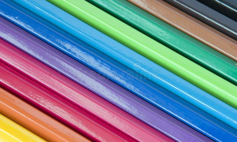 Pencils. Color pencils stock image