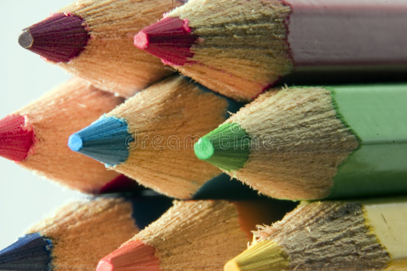 Download Pencils stock photo. Image of crayons, child, craft, artist - 179700