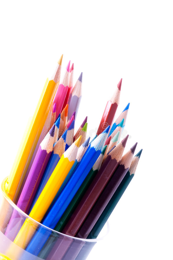 Pencils. stock images