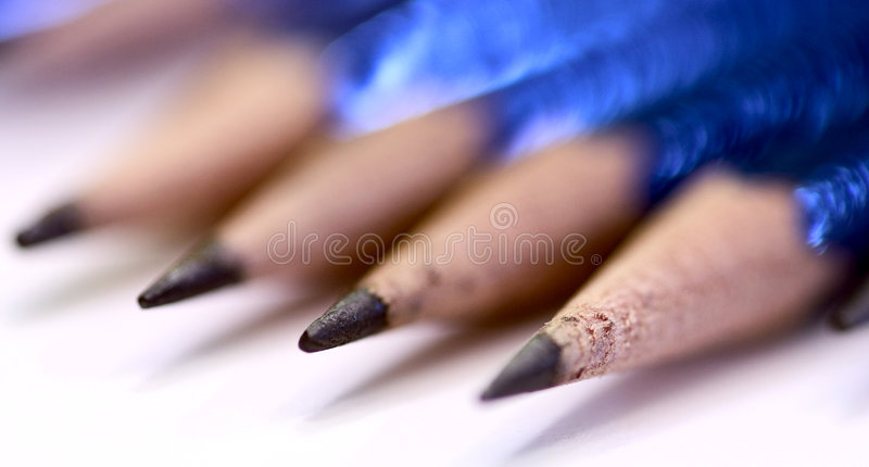 Download Pencils stock photo. Image of draw, sketch, triple, lead - 66280