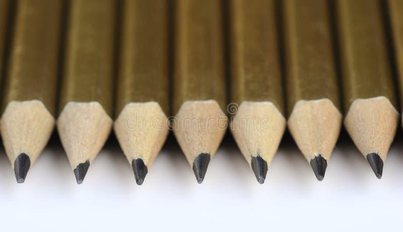pencils flera royaltyfria foton